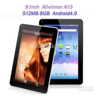 Wholesale inch Capacitive Screen Android Tablet PC MID GB WIFI Allwinner A13 MB GHZ Ultrathin