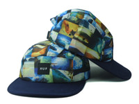Blue  Man Silk Fashion Huf Snapbacks,Huf Snapback Hats,Huf Caps,Huf Adjustment cap