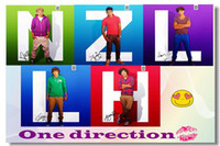 one direction posters - 025 One Direction PoP Misuic Star Silk Poster Wall Poster Silk Canvas Poster hot Painting Room Decorate