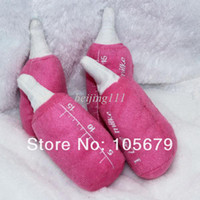 Wholesale T023 Plush Milk Bottle Dog Toys color is shipping in random Pet Toys pc
