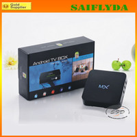 Wholesale Android MX TV Box Thin Client Amlogic Dual core GHz GB RAM GB