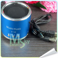 Wholesale New Arrival Music Mini Speaker Z Angel Kaidae with FM Support Micro TF Card Portable Multimedia Speaker Free DHL