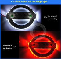 altima tail lights - two Color changing LED car badge light Nissan Teana Altima