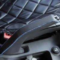 Handbrake Grips aluminum joints - Hot Sale High quality Leather hand joint Handbrake Grips for Chevrolet Cruze