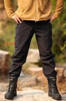 Wholesale TAD shark skin soft shell pants Trousers outdoor men s pants wind water warm
