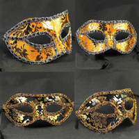 Wholesale Rhinestone Colourful Cloth Venice Mask Halloween Masquerade Masks Festive amp Party Supplies Party Masks MK021