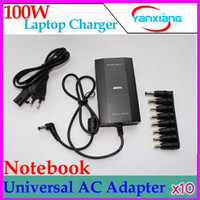 Wholesale DHL W Universal AC To DC Adapter Charger Power USB V V RW PC