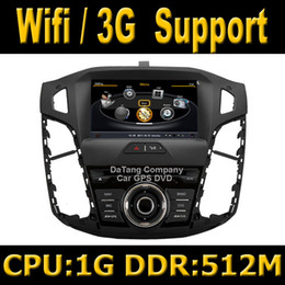 Wholesale S100 Car DVD GPS Head Unit Sat Nav for Ford Focus with Wifi G Host Radio Stereo Player Tape Recorder G CPU M DDR