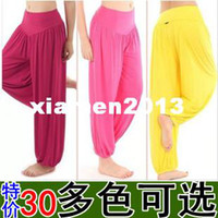 Women bloomers for women - Women s bag square dance yoga sports fitness modal bloomers gym clothes fitness clothing for women