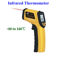 Wholesale Non Contact LCD IR Digital Infrared Thermometer Temperature with Laser Gun Point degree
