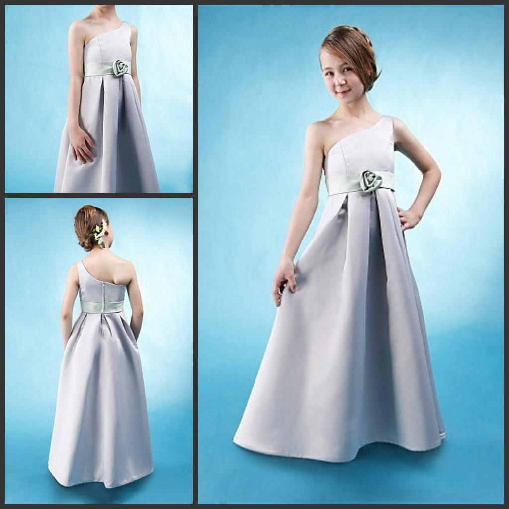 Silver Junior Bridesmaid Dresses | Good Dresses