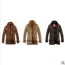 Wholesale Winter New Fashion Men PU Leather Coat Casual Motorcycle One Piece Super Warm Fur coats M XL tk0745