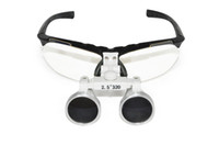 Black 2.5X 320mm Portable magnifying glass Black 2.5X320mm Dentist Surgical Binocular Dental Loupes with CE ISO