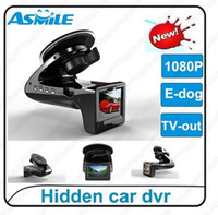 Wholesale A2 Car dvr camera Speed Radar Detector SH818 improved G sensor H degree Car black box E bog Radar camera