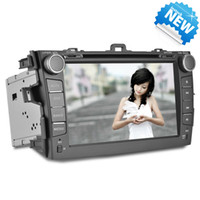 Wholesale 8 Inch Touch Screen Toyota Corolla Car DVD GPS Navigation Bluetooth DVD FM AM AUX USB SD Steering Wheel Control