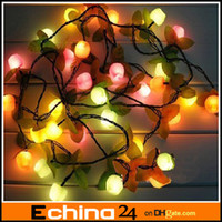 Wholesale Christmas decoration lights fruits lights festive Christmas tree lights Christmas decoration gift