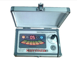 Wholesale 2014 latest reports Ver Spanish quantum magnetic resonance health analyzer