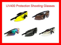 Wholesale Sports Airsoft Tactical Military UV400 Protection Shooting Glasses Sunglasses Hunting Goggles New