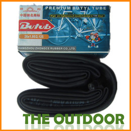 Wholesale 26 A V butyl rubber inner tube mountain bike inner tubes HW0196