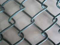 Wholesale Roadside Chain Link Fence Panel Plastic Coated Iron Wire Low Carbon Iron Wire Or Galvanized Iron Wire