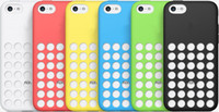 Wholesale New Arrival Silicone Case Cover for iPhone C iphone5C Colors Cell Phone Cases Free DHL