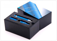 wholesale electronic lots - AGO Pen Dry Herb Vaporizer mah Portable AGO G5 Ecigarette With LCD Display Electronic Cigarette Blue Ecigar DHL Free sets