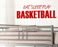 basketball quotes - 5pcs lotWall Decal Sticker Quote Vinyl Eat Sleep Play Basketball Boy s Sports Room