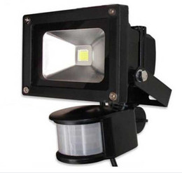 Free shipping 10W 20W 30W 50W 70W waterproof IP65 PIR Motion sensor led floodlight flood light
