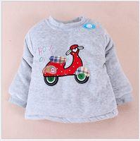 Unisex velvet  Tank Tops Hot Selling Winter Velvet Children Cotton-padded Clothes Baby's Shoulder Clothes Bladder Little Skateboard Boy Jacket 4pcs lot