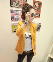 Wholesale Mushroom summer women s metal slim blazer tyu67
