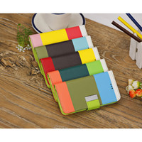 Wholesale Colorful New Flip PU Leather Case Skin Wallet Card Cover Stand for Apple iPhone C Perfect Fit Anti Scratch