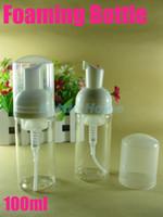 botella de espumante 100ML, bomba de espuma, dispensador de jabón, maquillaje, botella de espuma botella de champú libre al por mayor # 1060