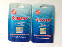 Wholesale IOS iPhone S Genuine GPP F981 chip Sim Unlock iphone4s ios Sprint Verizon T mobile working G