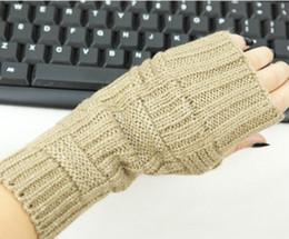 Wholesale Korea Gloves Style - Korea style Fingerless Gloves Arm warmers ARM CORVER mitten 20 pairs lot #3249