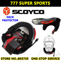 Wholesale Motorcycle Neck Protector Sports Cycling Riding Cross Long Distance Neck Brace Armor Protective Gears Scoyco N02