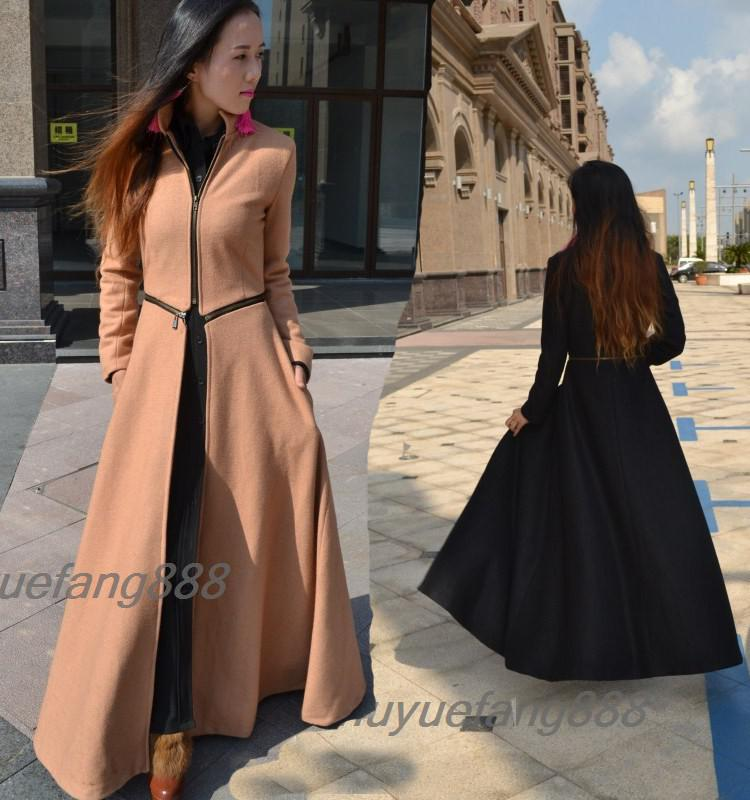 2016 New Style Womens Windwall Trench Coats Downcoats Thanksgiving ...