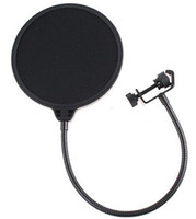 acoustic microphone shield - Lowest Price Fedex Goose neck Studio Microphone POP shield acoustic filter