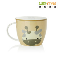 other other other High quality instant noodles cup Large ceramic cup with lid mug cup