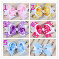 Barrettes chiffon  Floral Baby Barrettes Hairpin Girl Bowknot Flower Hair Clips Hair Accessories Hair Bow DIY Photography props Hair Clip Big Flower Barrette 20pcs