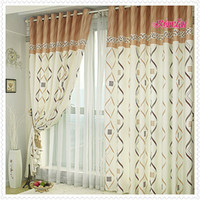 Wholesale B0254 brief print curtain cloth curtain fabric curtain balcony