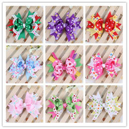 Baby Barrettes Hairpin Girl Bowknot Flower Hair Clips Hair Accessories Hair Bow DIY Photography props Hair Clip Lovely Multicolor Barrette
