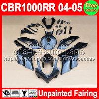 7gifts Unpainted Full Fairing Kit For HONDA CBR1000RR 04- 05 ...