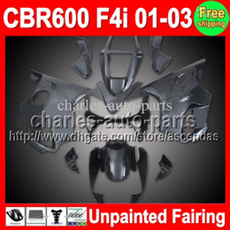 Wholesale 7gifts Unpainted Full Fairing Kit For HONDA CBR600F4i CBR F4i CBR600 F4i F4i Fairings Bodywork Body