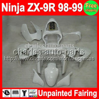 7gifts Unpainted Full Fairing Kit For KAWASAKI NINJA ZX9R 98...