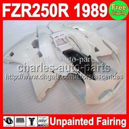 7gifts Unpainted Full Fairing Kit For YAMAHA FZR250R 1989 89 FZR 250R 1989 YAMAHA FZR250 R FZ 250 R FZ-250R 89 1989 Fairings Bodywork Body