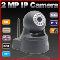 Wholesale P2P plug amp play MP P H wireless IP Camera support TF card storage indoor work with Onvif