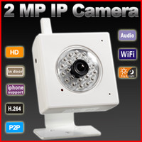 Wholesale P2P plug amp play Megapixel P H wireless IP Camera support GB TF card storage work with Onvif