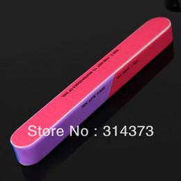 Wholesale 5pcs Ways Colorful Sanding File Shiner Buffer Buffing Block Mulit Function Manicure Pedicure Nail Art Care Tool Product