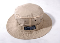 Wholesale Bucket Hat Unisex Golf Cricket Hat Sun Hat Cap Tan Color Cotton for Men Women