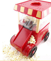 Wholesale Creative Nostalgia mini classic horse carts home popcorn Tabletop Machine new